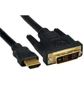 kábel  MONITOR DVI-D(18+1) - HDMI(19PIN) M/M 1m