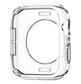 Spigen kryt Liquid Crystal pre Apple Watch 4/5/6/SE 40mm - Crystal Clear