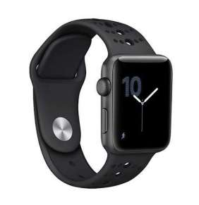 Sdesign remienok Sport Band pre Apple Watch 42/44mm - Black/Black