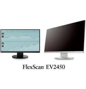 "24"" LED EIZO EV2450-FHD, IPS, konektory HDMI, DP, USB, pivot, reproduktory, šedá barva"