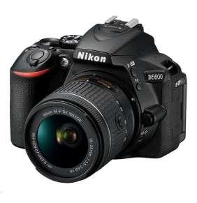 NIKON zrcadlovka D5600 body + AF-P 18-55 VR + 70-300VR  černý
