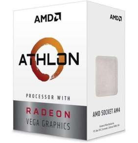 CPU AMD Athlon 240GE (Raven Ridge), 2-core, 3.5GHz, 5MB cache, 35W, socket AM4, VGA RX Vega, BOX