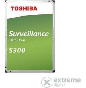 "TOSHIBA HDD S300 Surveillance 4TB, SATA III, 5400 rpm, 128MB cache, 3,5"", BULK"