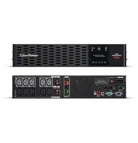 CyberPower PR1500ERTXL2U, UPS 1500VA/1500W, LCD, 10x IE C13, RJ11/RJ45, USB, RS232, rack 2U