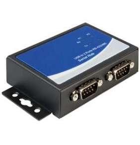 Delock adaptér USB 2.0 na 2x sériové rozhranní RS-422/485