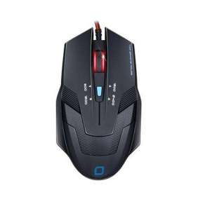 EVOLVEO MG636 herní myš s rozlišením 2400DPI, USB, 4 programovatelných tlač., černá