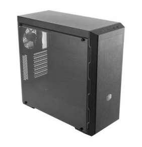 Cooler Master miditower MasterBox MB600L, ATX, USB3.0, průhl. bočnice, bez zdroje, černý