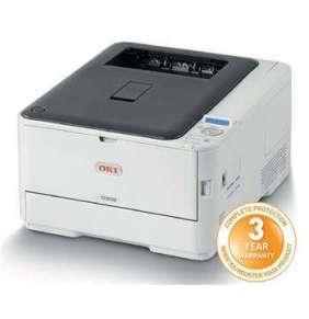 OKI C332dnw, A4 LED, color printer, 26 strán/min, 1200x600, USB, LAN, WiFi, duplex