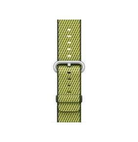 Apple Watch Acc/38/Dark Olive Woven Nylon