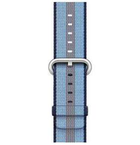 Apple Watch 38mm Midnight Blue Stripe Woven Nylon