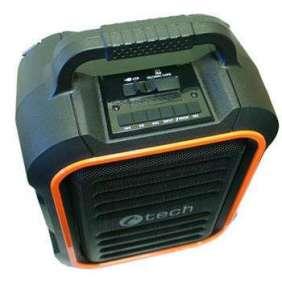 C-TECH repro Impressio Garde, all-in-one, 15W , přenosný aktivní, baterie , 2x mic, USB, SD, BT, FM. MP3, DO