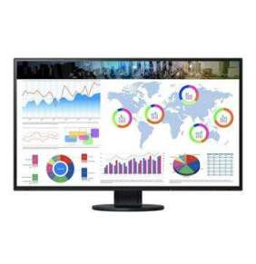 "EIZO 31,5"" EV3285-BK, IPS-LED, 4K UHD, 350 cd/m2, 1300:1, USB-C, DP, HDMI, černý"