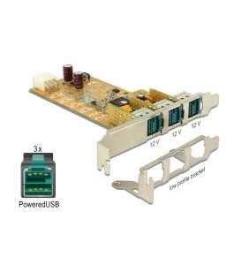Delock PoweredUSB PCI Express Card   3 x 12 V