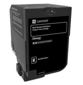 LEXMARK toner CS720, CS725, CX725 Black Standard Yield Return Programme Toner Cartridge