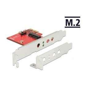 Delock PCI Express Karta   1 x interní M.2 Key E - Low Profile