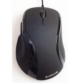 EVOLVEO Laserwire ML-507B, laserová myš, USB