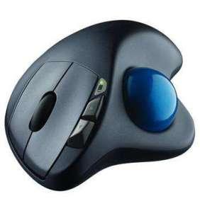 Logitech myš Wireless Mouse M570, optická, USB, unifying přijímač, 5 tlačítek, černá