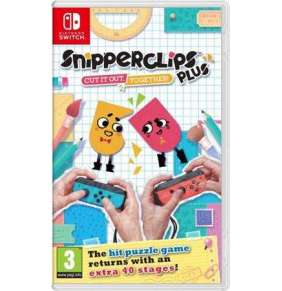SWITCH Snipperclips Plus: Cut it out, together!