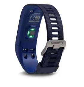 Garmin vívosmart Optic s GPS Blue, (vel.L))-fitness náramek