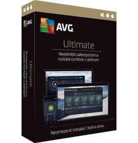 AVG Ultimate Internet Security + TuneUp 12 měs.