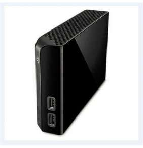 "SEAGATE Ext. HDD BACKUP PLUS HUB 3,5"" - 4TB, černý"