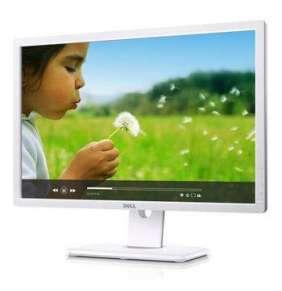 """DELL UltraSharp U2412MWh IPS 24""""W 1920x1200 2000000:1 8ms 300cd PIVOT DP DVI USB White"""
