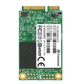 TRANSCEND SSD MSA370, 128GB, mSATA, SATA III 6Gb/s, MLC