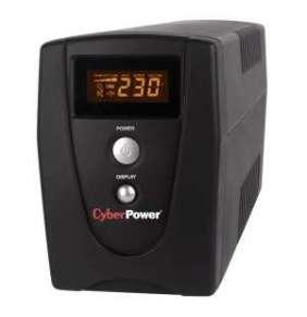 CyberPower Value 800, UPS 800VA/480W, LCD, 3x IE C13 zásuvka, RJ11/RJ45, USB, RS232