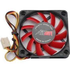 AIREN FAN RedWings60 (60x60x10mm, 17,5dBA) 3pin 12V