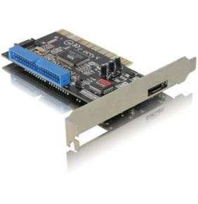 DeLock PCI řadič 1xeSATA ext.,1xSATA/IDE int. RAID