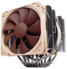 Noctua chladič NH-D14 (2011,115x,AM2,AM2+,AM3, AM4) / 140mm / pro Intel, AMD / PWM / 4-pin
