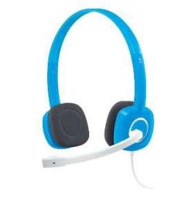 Logitech náhlavní souprava Headset H150 Blueberry, stereo