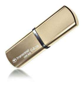 Transcend 64GB JetFlash 820, USB 3.0 flash disk, zlatý