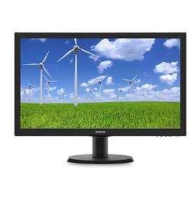 "Philips 243S5LHMB/00 23.6"" LED 1920x1080 10 000 000:1 1ms 250cd HDMI pivot repro cierny"