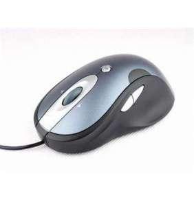 Modecom MC-920 G-Laser drátová optická myš, 7 tlačítek, 1600 DPI, USB, modro-černá