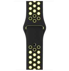 Apple Watch 38mm Black/Volt Nike Sport Band - S/M & M/L