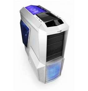 Zalman case miditower Z11 PLUS WHITE - limitovaná edice, mATX/ATX, bez zdroje, USB3.0, bílá