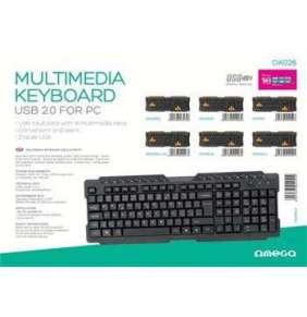 OMEGA multimediální klávesnice OK26