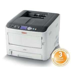 OKI C612n, A4 LED, color printer, 36 strán/min, 1200x600, USB, LAN
