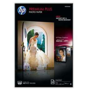 HP Premium Plus Glossy Photo Paper-20 sht/A3/297 x 420 mm, 300 g/m2, CR675A