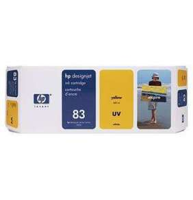 HP C4943A No. 83 Yellow UV Ink Cart pro DSJ 5x00, 680 ml