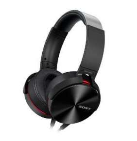 SONY XB sluchátka MDR-XB950AP handsfree, černé