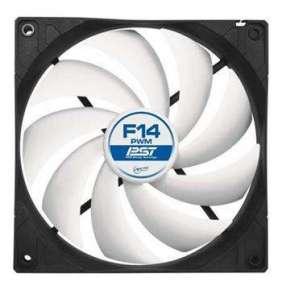 ARCTIC F14 PWM PST ventilátor, 140 x 140 x 27 mm, 4pin, 12V