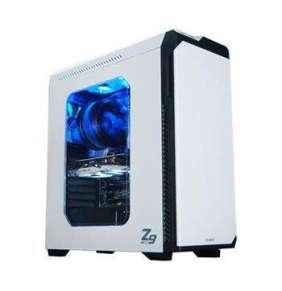 Zalman skříň Z9 NEO WHITE / Middle tower / ATX / USB 3.0 / USB 2.0 / průhledná bočnice