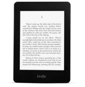 "Amazon Kindle PAPERWHITE 3 2015 BLACK, 6"" 4GB E-ink displej, WIFi, Sponzorovaný"