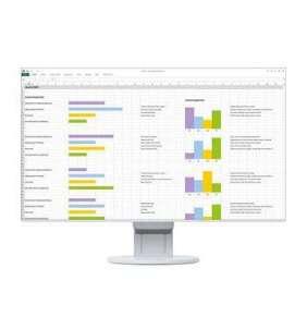"""EIZO MT IPS LCD LED 24"""" EV2451-WT,1920x1080, 178°/178°, 1000:1,250cd,  1x DVI-D, D/SUB15, DP, HDMI, 2xUSB,  audio,WT"""