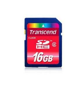 Transcend 16GB SDHC (Class 4) paměťová karta