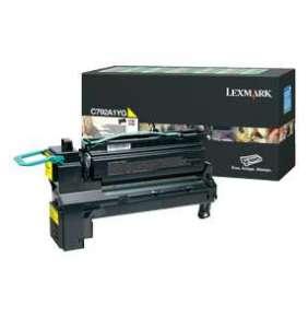 LEXMARK C792, X792 Yellow Return Program Print Cartridge (6K)