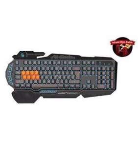 A4tech Bloody B318 podsvícená herní klávesnice, 8 mechanických infračervených kláves, USB, CZ