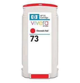 HP 73 Chromatická červená inkoustová kazeta DesignJet, 130 ml